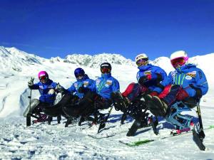 Para ski team