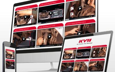 4 миллиона просмотров видео-инструкций KYB